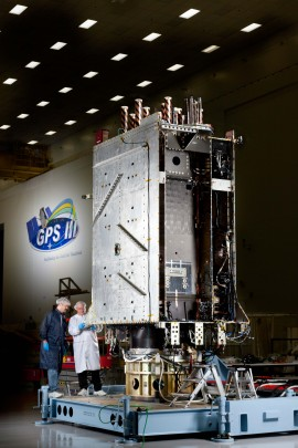 Lockheed Martin Completes Major GPS III Flight Software Milestone